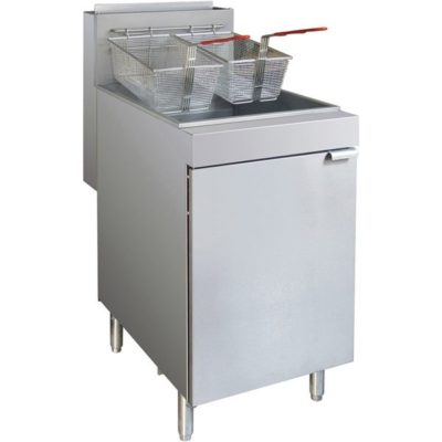 Gas Tube Superfast Twin Vat Fryer – RC400T