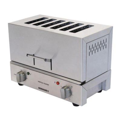 Roband Vertical Toaster, 6 slice – 11.2 Amp