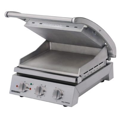 Roband Grill Station 6 slice, smooth plates