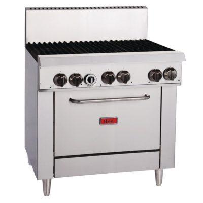 Thor 6 Burner Natural Gas Oven Range TR-6F