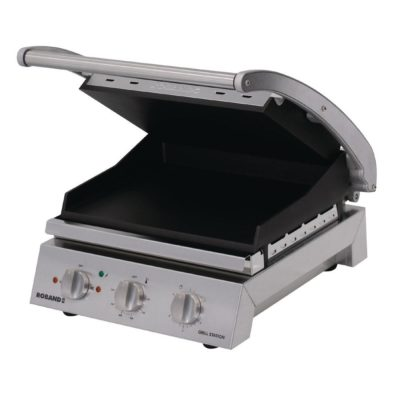 Roband Grill Station 6 slice, smooth non stick plates – 2.2kw; 9.6amp