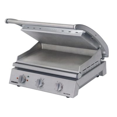 Roband Grill Station 8 slice, smooth plates – 2.2kw; 9.6amp