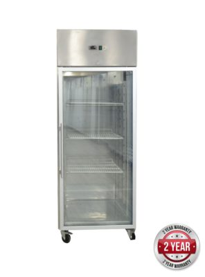 GN650BTG GRAND ULTRA Single Glass Door Upright Freezer 685L