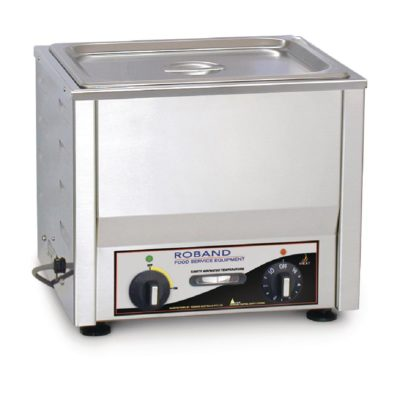 Roband Counter Top Bain Marie  with thermostat 1/2 size, pan not included