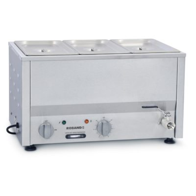 Roband Counter Top Bain Marie 2 x 1/2 size 150mm pans