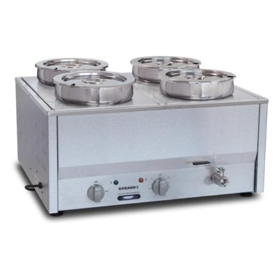 Roband Counter Top Bain Marie 4 x 200mm round pots