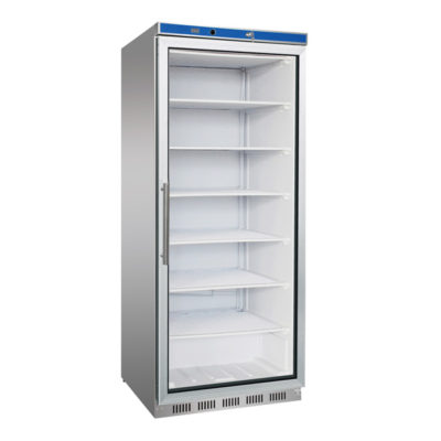 HF600G S/S Display Freezer with Glass Door