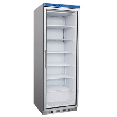 HR400G S/S Display Fridge with Glass Door