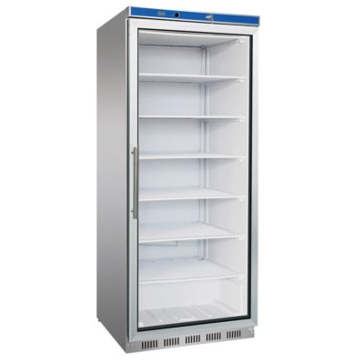 HR600G S/S Display Fridge with Glass Door