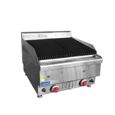 JUS-TRH40 GASMAX Benchtop Gas Lava Rock Grill