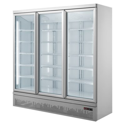 Triple glass door colourbond upright drink fridge bottom mounted – LG-1500GBM