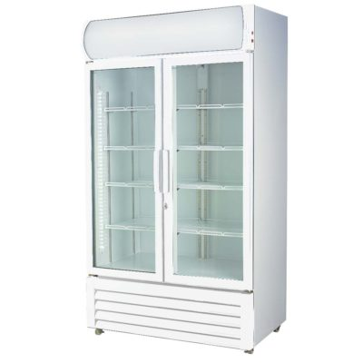 Double glass door colourbond upright drink fridge – LG-580GE