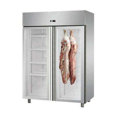 MPA1410TNG Large Double Door Upright Dry-Aging Chiller Cabinet – Smoking Oven