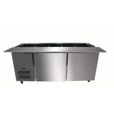 PG150FA-B Bench Station Two Door – 4×1/1 GN Pans