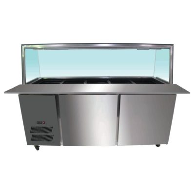 PG180FA-YG Chilled Bain Marie 5×1/1 GN Pans