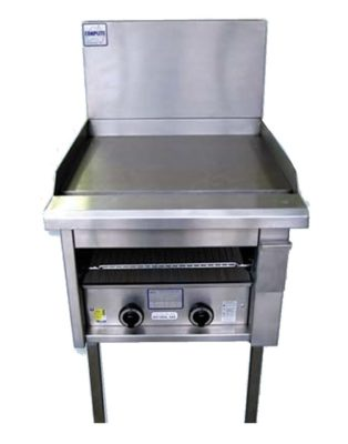 Griddle Toaster Combination Floor Standing