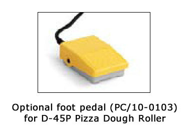 PC/10-0103 Foot Pedal for D-45P Pizza Dough Roller