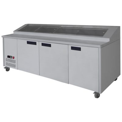 PPB/21 three door DELUXE Pizza Prep Bench