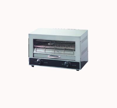 Single infrared quartz element salamander griller toaster and timer – QT-1