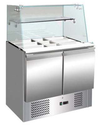 S900GC Compact Food Service Bar Two Door