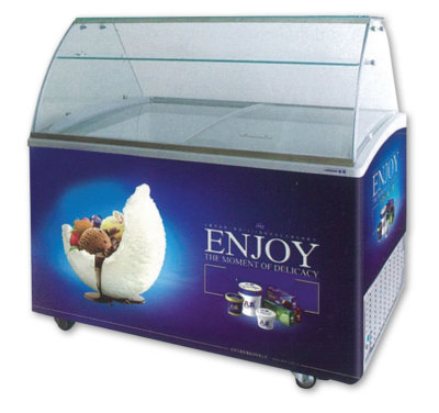 SD-415S Gelato Display – Fits 9 x 5Lt Tubs