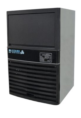 SN-80P Blizzard Underbench Cube Ice Maker 36kg output/24h