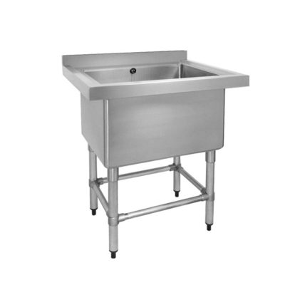 Stainless Steel Single Deep Pot Sink 770-6-SSB Bowl Size: 610×400×450