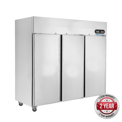 SUC1500 TROPICAL Thermaster 3 Door SS Fridge 1500L