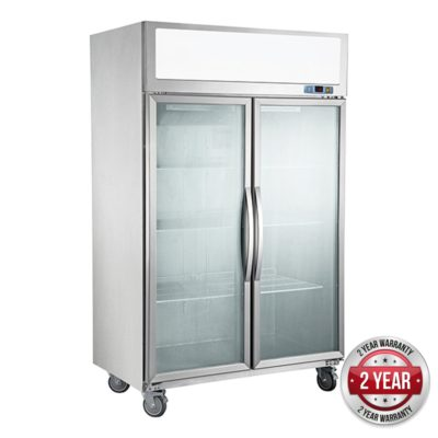 SUCG1000 Double Door Upright Display Fridge