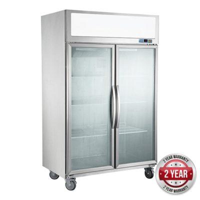 SUFG1000 Double Door Display Freezer