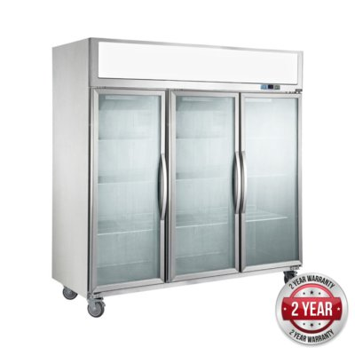 SUFG1500 Three Door Upright Display Freezer