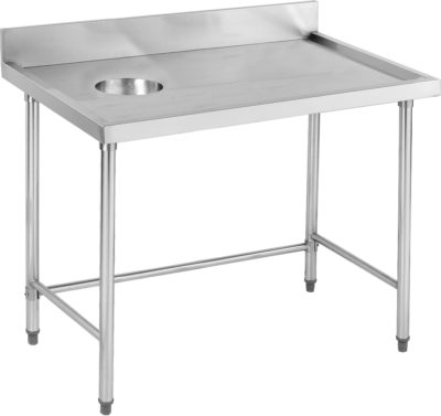 High Quality Stainless Steel Bench with splashback – SWCB-7-1200R