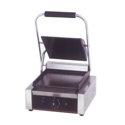 Electric Contact Grill Single top grooved and flat Bottom 1.8KW – TCG-811CKW