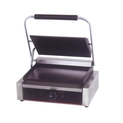 Electric Contact Grill Single Top Grooved and Bottom Flat 2.2KW – TCG-811ECKW