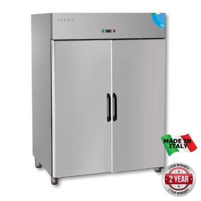 TD1400BT Premium Double Solid Door Upright Freezer – 1400 Litre