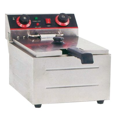 Electmax Single Tank Electric Benchtop Fryer 3kw – TEF-101KW