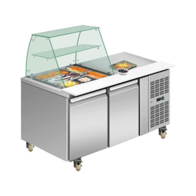 THP2100SALGC two door DELUXE Salad Bar