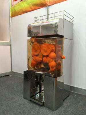Commercial Cold Press Orange Juicer Self service automatic tap start – WDF-OJ200