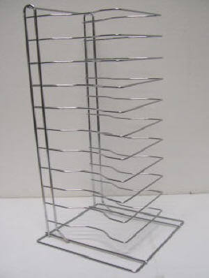 12 Tier Pizza Tray Rack – Max 15″ Tray Size