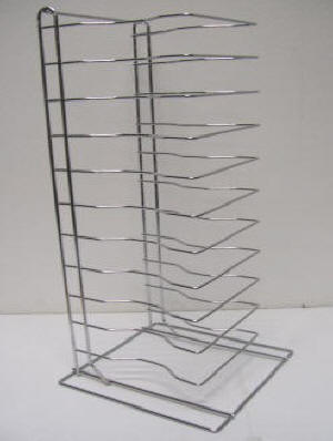 12 Tier Pizza Tray Rack