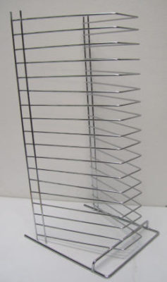 18 Tier Pizza Tray Rack