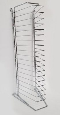 20 Tier Extra Heavy Duty Pizza Tray Stand Rack