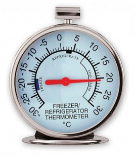 Analogue Fridge / Freezer Thermometers