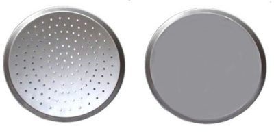 Alsteel Pizza Trays – Plain & Perforated