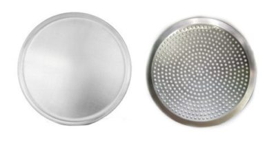 Aluminum Pizza Trays – Plain & Perforated