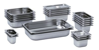 Gastronorm Stainless Steel Pans