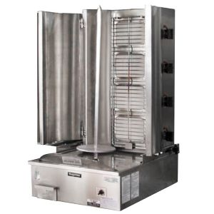 4 Burner Infrared Vertical Rotisserie – Straight Line