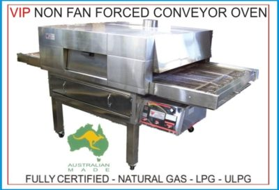 VIP Mesh Conveyor – Gas Pizza Oven (13 Models)