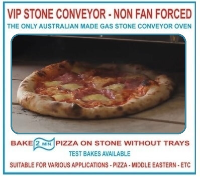 VIP Stone Conveyor – Gas Pizza Oven