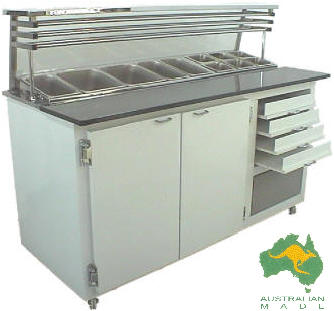 VIP Pizza Preparation Bar – Compact